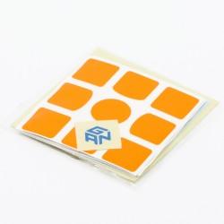 GAN 3x3 Sticker Set Bright