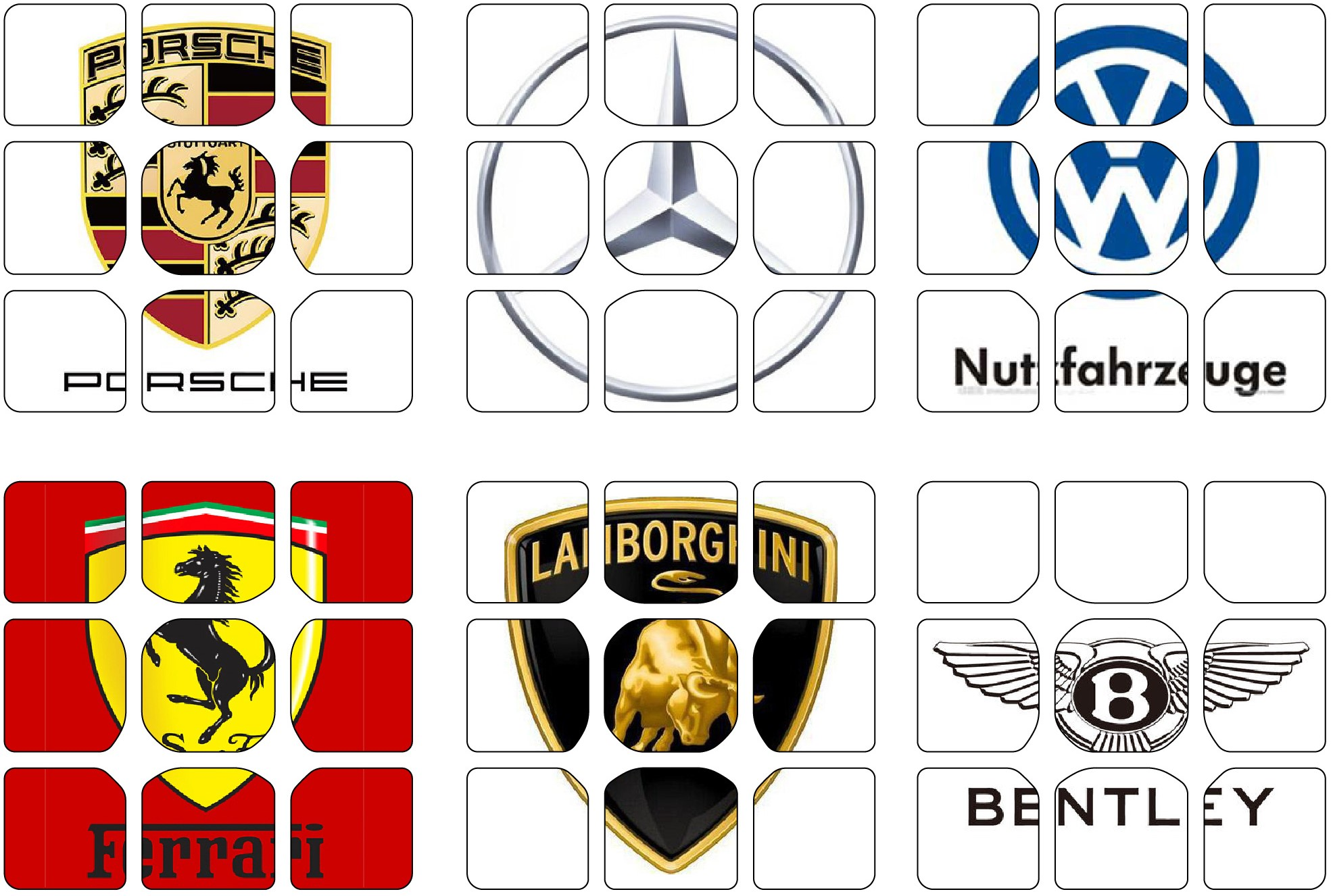 Individueller Logodruck